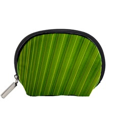 Green Leaf Pattern Plant Accessory Pouches (Small)