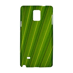 Green Leaf Pattern Plant Samsung Galaxy Note 4 Hardshell Case