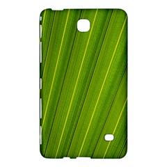 Green Leaf Pattern Plant Samsung Galaxy Tab 4 (8 ) Hardshell Case