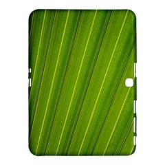 Green Leaf Pattern Plant Samsung Galaxy Tab 4 (10.1 ) Hardshell Case