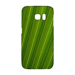 Green Leaf Pattern Plant Galaxy S6 Edge