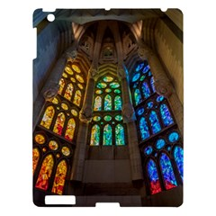 Leopard Barcelona Stained Glass Colorful Glass Apple Ipad 3/4 Hardshell Case