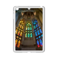 Leopard Barcelona Stained Glass Colorful Glass iPad Mini 2 Enamel Coated Cases