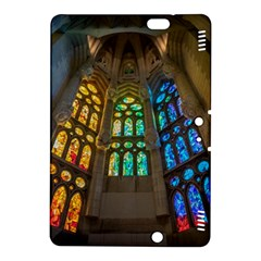 Leopard Barcelona Stained Glass Colorful Glass Kindle Fire Hdx 8 9  Hardshell Case