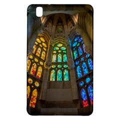Leopard Barcelona Stained Glass Colorful Glass Samsung Galaxy Tab Pro 8.4 Hardshell Case