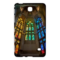 Leopard Barcelona Stained Glass Colorful Glass Samsung Galaxy Tab 4 (7 ) Hardshell Case