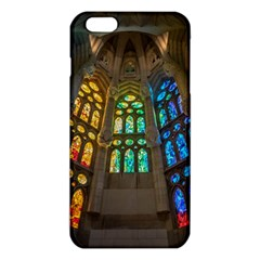 Leopard Barcelona Stained Glass Colorful Glass Iphone 6 Plus/6s Plus Tpu Case