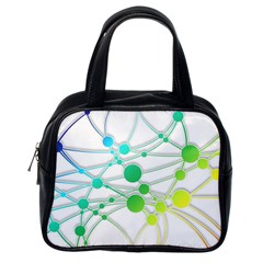 Network Connection Structure Knot Classic Handbags (one Side)
