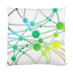 Network Connection Structure Knot Standard Cushion Case (One Side)
