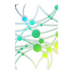 Network Connection Structure Knot Shower Curtain 48  x 72  (Small)