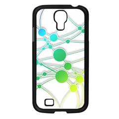 Network Connection Structure Knot Samsung Galaxy S4 I9500/ I9505 Case (black)