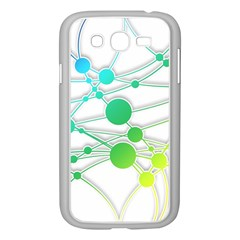 Network Connection Structure Knot Samsung Galaxy Grand DUOS I9082 Case (White)