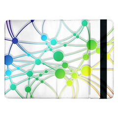 Network Connection Structure Knot Samsung Galaxy Tab Pro 12 2  Flip Case