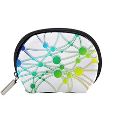 Network Connection Structure Knot Accessory Pouches (small)