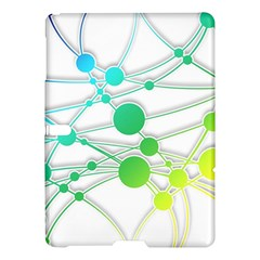 Network Connection Structure Knot Samsung Galaxy Tab S (10.5 ) Hardshell Case
