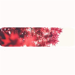 Maple Leaves Red Autumn Fall Large Bar Mats