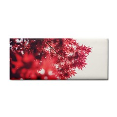 Maple Leaves Red Autumn Fall Cosmetic Storage Cases