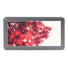 Maple Leaves Red Autumn Fall Memory Card Reader (Mini)