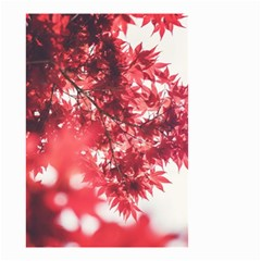 Maple Leaves Red Autumn Fall Small Garden Flag (two Sides)