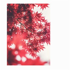 Maple Leaves Red Autumn Fall Large Garden Flag (two Sides)