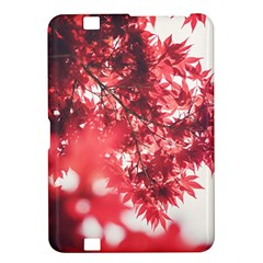 Maple Leaves Red Autumn Fall Kindle Fire HD 8.9
