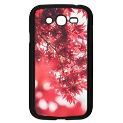 Maple Leaves Red Autumn Fall Samsung Galaxy Grand DUOS I9082 Case (Black)
