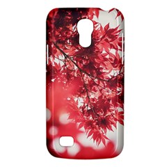 Maple Leaves Red Autumn Fall Galaxy S4 Mini