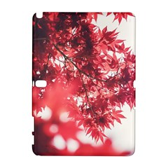 Maple Leaves Red Autumn Fall Galaxy Note 1
