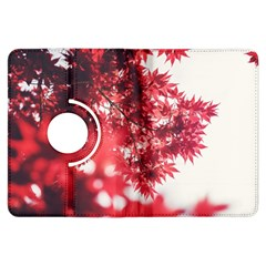 Maple Leaves Red Autumn Fall Kindle Fire Hdx Flip 360 Case