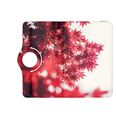 Maple Leaves Red Autumn Fall Kindle Fire HDX 8.9  Flip 360 Case