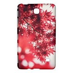 Maple Leaves Red Autumn Fall Samsung Galaxy Tab 4 (7 ) Hardshell Case