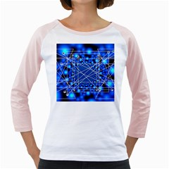 Network Connection Structure Knot Girly Raglans