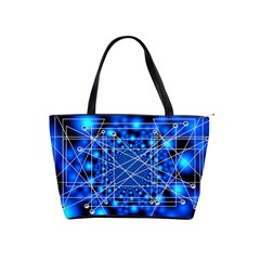 Network Connection Structure Knot Shoulder Handbags