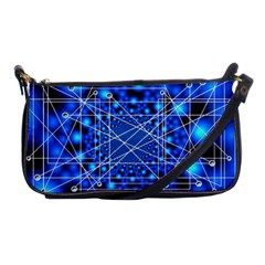 Network Connection Structure Knot Shoulder Clutch Bags