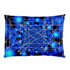 Network Connection Structure Knot Pillow Case (Two Sides)