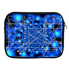 Network Connection Structure Knot Apple Ipad 2/3/4 Zipper Cases