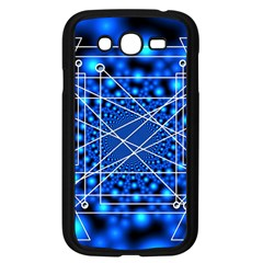 Network Connection Structure Knot Samsung Galaxy Grand DUOS I9082 Case (Black)