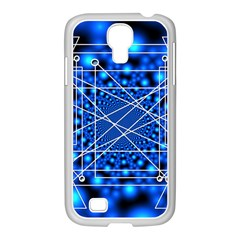 Network Connection Structure Knot Samsung GALAXY S4 I9500/ I9505 Case (White)