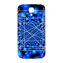 Network Connection Structure Knot Samsung Galaxy S4 I9500/I9505  Hardshell Back Case