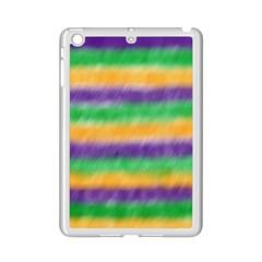 Mardi Gras Strip Tie Die Ipad Mini 2 Enamel Coated Cases