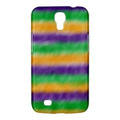 Mardi Gras Strip Tie Die Samsung Galaxy Mega 6.3  I9200 Hardshell Case