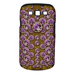 Gold Plates With Magic Flowers Raining Down Samsung Galaxy S III Classic Hardshell Case (PC+Silicone)