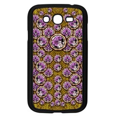 Gold Plates With Magic Flowers Raining Down Samsung Galaxy Grand DUOS I9082 Case (Black)