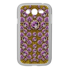 Gold Plates With Magic Flowers Raining Down Samsung Galaxy Grand DUOS I9082 Case (White)