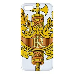 National Emblem of France  iPhone 5S/ SE Premium Hardshell Case