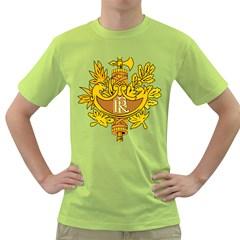 National Emblem of France  Green T-Shirt