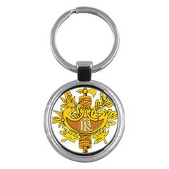 National Emblem of France  Key Chains (Round)