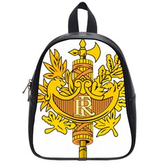 National Emblem Of France  School Bags (small)