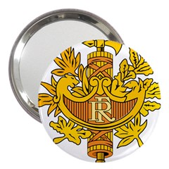 National Emblem of France  3  Handbag Mirrors