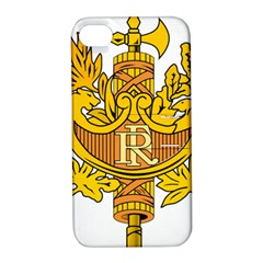 National Emblem of France  Apple iPhone 4/4S Hardshell Case with Stand